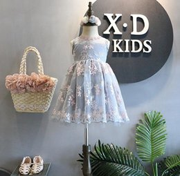 $enCountryForm.capitalKeyWord Canada - baby girl pagenant dresses fashion lace white dress for kids princess party tutu sundress short sleeves onesie maxi outfits toddlers clothes