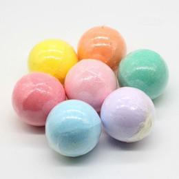 Природный пузырь ванна бомба мяч 40 г случайный цвет эфирное масло ручной работы спа соли для ванн мяч высокое качество бесплатно DHL