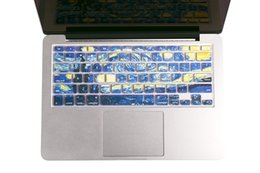 """Imac Macbook NZ - Starry Night by Van Gogh Macbook keyboard Cover for MacBook Air 13"""" MacBook Pro 13"""" 15"""" 17"""" (with or without Retina Display) and iMac Wirele"""