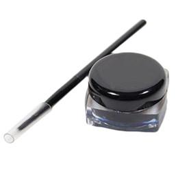 $enCountryForm.capitalKeyWord UK - Eye Liner Makeup Eye With Brush 2 In 1 Black Gel Eyeliner Make Up Waterproof Cosmetics Set