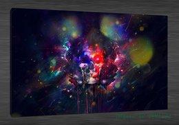 $enCountryForm.capitalKeyWord Canada - blast bright brush rainbow 1Pieces Home Decor HD Printed Modern Art Painting on Canvas (Unframed Framed)