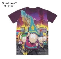 5feaa27ab South Park T Shirts Canada - Sondirane New Womens Mens Cartoon South Park  3D Print Funny