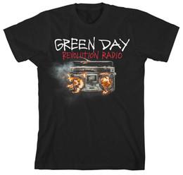 $enCountryForm.capitalKeyWord Australia - Green Day Revolution Radio Rock Music Punk Licensed Tee T-Shirt Men 100% cotton casual printing short sleeve men T shirt o-neck
