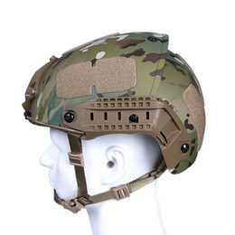 Discount paintball airsoft helmet - New Design Cheap WoSporT High Quality Tactical Helmet Heavy Duty Army Combat Helmet Air Frame Crye Precision Airsoft Pai