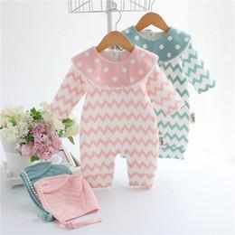 Warm Bodysuit NZ - Newborn Kids Baby Boy Girl Warm Bodysuit Romper Jumpsuit Hat Outfits Clothes Set