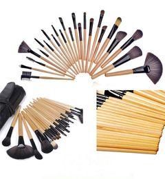 $enCountryForm.capitalKeyWord Australia - 24pcs Makeup Brush Set MakeupTool Kit Pink Red Black Color Comestic Makeup Brushes Blush Face Powder Eyeshadow Foundation Brushes