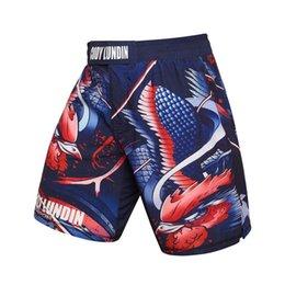 $enCountryForm.capitalKeyWord UK - Men's clothing 2018 compression shorts Masculino blue Phoenix 3D printing men's shorts fitness dragon wolf snake print