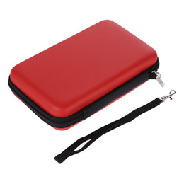 ALYSEED High Quality 3 Colors Styles EVA Skin Carry Hard Case Bag Pouch for Nintendo 3DS XL LL with Strap on Sale
