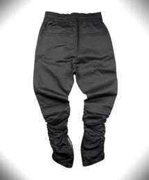 Slim fit trouSerS online shopping - Designer Pants Justin Bieber Brand Side Zipper Men Slim Fit Casual Mens Hip Hop Jogger Biker Pants Swag Sweatpants Skinny Trousers