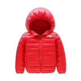 086d9a862 2018 brand north Abrigos para niños Niño y niña Abrigo de invierno cálido  Abrigo con capucha Chaqueta de algodón acolchada Chaquetas para niños 4-12  años