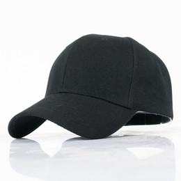 China Wholesale Cotton Snapback Hats Cap Baseball Cap Solid Hats Hip Hop Fitted For Men Women Custom Casquette 100PCS lot cheap custom fitted baseball caps suppliers