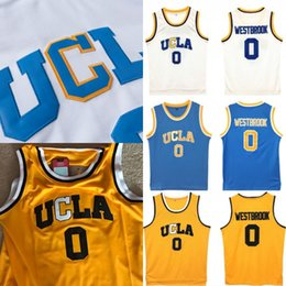 9a8ddaade945 UCLA Bruins  0 Russell Westbrook  2 Lonzo Ball  42 Kevin Love Basketball  Jerseys Double Stiched Logos   Name   Number IN STOCK