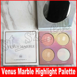 Light marbLe online shopping - Marble Color high light palette venus marble highlighter face Highlight Contour Pro Palette Powder Shadow