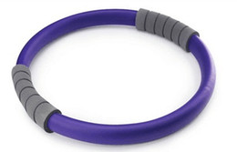 pilates ring yoga NZ - Professional Slimming Purple Magic Ring Durable Pilates Fitness Circle Yoga Accessory Q