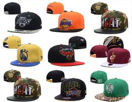 Venta al por mayor de New Arrivel Basketball Team Snapback Cap Flat Brimmed Hats Suministro para Adultos Hombres Mujeres Hip Hop Ajustable Party Gorras Regalo Sport Cap