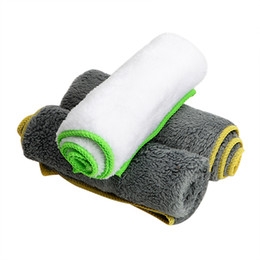 Microfiber car polishing online shopping - 37 cm Car Wash Towel Auto Care Detailing for Car Wax Polish Cleaning Tool Ultra Soft Microfiber Cloth