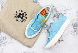 0c2f80befb92 One Star Ox Tyler The Creator Golf Le Fleur Geranium Pink White ONESTAR-GLFLEFLRPNK  160325C Sneaker Trainers Shoes Canvas shoes