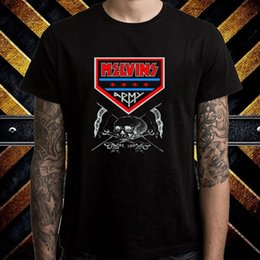 Army Shirt Designs NZ - Cool T Shirt Designs Short Crew Neck New The Melvins Army Rock Band Logo Summer Mens Tee Shirt