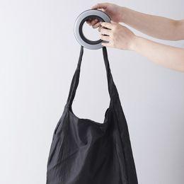 $enCountryForm.capitalKeyWord UK - Portable Shopping Handbag Fashion Spiral Style Storage Bag Nylon Foldable Grocery Pouch Travel Eco Friendly Handbags Organizer LZ1809