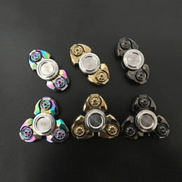 boys toys 11 2019 - Fingertip Gyro Kids Toys New Fidget Spinner EDC Spiral Titanium Aluminum Ceramic Ball Bearing Spindle Screw EDC Tool Chr