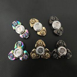 $enCountryForm.capitalKeyWord NZ - Fingertip Gyro Kids Toys New Fidget Spinner EDC Spiral Titanium Aluminum Ceramic Ball Bearing Spindle Screw EDC Tool Christmas Boys Toys Box