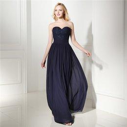 Toptan satış Toptan sevgiliye geri fermuar basit elbise İmparatorluğu kolsuz Exposed Boning Balo Elbiseler ile kat uzunluk CYH000006411