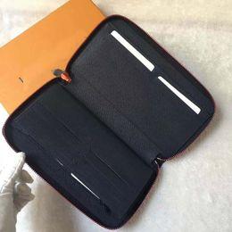 $enCountryForm.capitalKeyWord NZ - Free shippment New Arrival High Quality M62931 ZIPPY ORGANIZER Wallet Zip-Around Men's Passport Case Large Wallet Genuine Leather Letter Bag