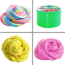 $enCountryForm.capitalKeyWord Australia - Intelligent Creative Hand Gum Silly Putty light Clay Plasticine Mud Toys Kids Gift Clay DIY Rubber Release Mud Fluffy Floam Modeling