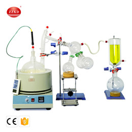 New Dryers Canada - ZZKD New 5L Lab Supplies Suitable for Enrichment Crystallization Drying Separation Short essential oil distillation equipment