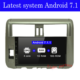 radio for toyota NZ - Factory price Fight partner 4G Android Car DVD for Toyota Land cruiser Prado 150 2010 - 2013 car GPS Stereo radio gps player