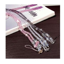$enCountryForm.capitalKeyWord UK - Artificial Crystal Neck Necklace Strap Lanyard U Disk ID Work Card Mobile Cell Phone Chain Straps Keychain phone Hang Rope