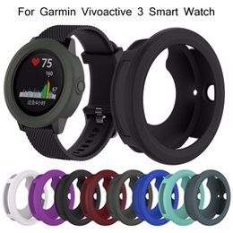 Cover For Smart Watch Australia - Protect Watch Case For Vivoactive3 High Quality Silicone Protector Case Cover For Garmin Vivoactive3 Smart Watch 45.4MM Diameter