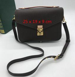 d950ec87959c 2018 Fashion women PU leather handbag large tote bag french shopping bag GM  MM size gy bag Free shopping