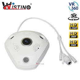 3mp video 2019 - 1080P WIFI Panoramic Camera 360 Degree 1.3MP 3MP 5MP Fisheye Panoramic IP Camera PTZ CCTV 3D VR Video IP Surveillance HD