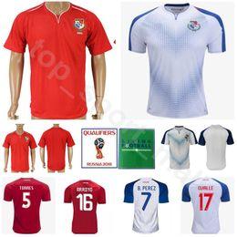 eb20df5ad7a 2018 World Cup Panama Jersey Men Soccer 5 Roman Torres 7 Blas Perez  Football Shirt Kits Uniforms 18 Luis Tejada Custom Name Number Red White
