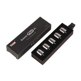 Auténtico Yocan Evolve Plus XL Cera QUAD Bobina Quad Quatz Varillas de Rod para Evolve Plus XL Kit de pluma