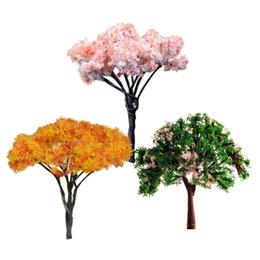 3PCS Mini Tree Miniature Dolls 'House Garden Accessory Plant Fairy Ornament DIY