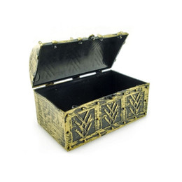 vintage toys wholesalers UK - Chic Pirate Jewellery Storage Box Case Holder Vintage Treasure Chest for Cosmetic Toy Organizer Box ZA5685