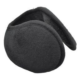 Ear Muffs Wholesale UK - Verwong Black Men Women Soft Plush Covered Pads Wrap Earmuffs Ski Ear Muffs Warmers
