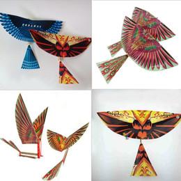 $enCountryForm.capitalKeyWord Australia - 10 PCS DIY Baby Kids Adults Rubber Band Power Handmade Bionic Air Plane Ornithopter Birds Models Science Kite Toys