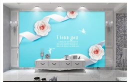$enCountryForm.capitalKeyWord Canada - 3D wall murals wallpaper custom picture mural wall paper Beautiful silk pink 3D rose background wallpaperfor walls 3d home decor