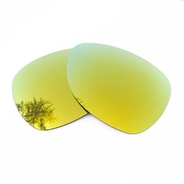 bf11f1aa550f 24K Gold Mirrored Polarized Replacement Lenses for Felon Sunglasses Anti  Saltwater Anti dust