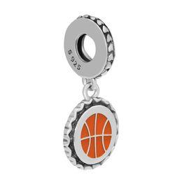 $enCountryForm.capitalKeyWord UK - Baseball jewelry charms beads S925 silver fits for pandora style bracelet ENG792018_18 H8