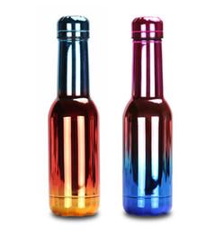 $enCountryForm.capitalKeyWord UK - 17oz 500ML Rainbow Cola Shaped Water Bottles Sports Travel Mugs Outdoor Coke Flask Vaccum Insulated thermos