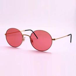 Red lense glasses online shopping - Best Quality Metal Frame Sunlgasses Glass Lense mm Beat Round Glasses for Women With Case