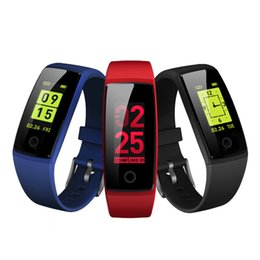 Fitbit red online shopping - V10 Smart Bracelet Heart Rate Blood Pressure Monitor Fitness tracker Countdown with Running Mode for apple watch pk fitbit xiaomi band