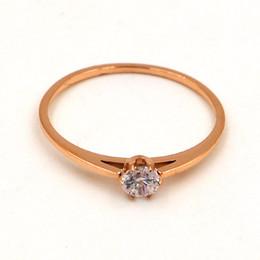 Discount Elegant Rose Gold Wedding Ring