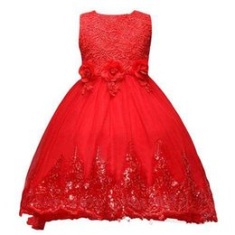 $enCountryForm.capitalKeyWord UK - 2018 New Cheap Cute Purple Girl's Ball Gown Pageant Dresses Sequin Sleeveless Embroidery Princess Long Shining Flower Girl's Dresses