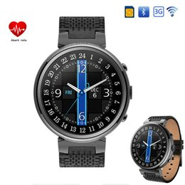 $enCountryForm.capitalKeyWord Australia - luxury smart watch I6 MTK 6580 2GBROM 16GBRAM 1.3inch 360*with SIM card slot support Google play  map for Android iOS reloj