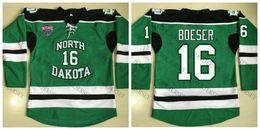 hockey sioux 2019 -  16 Brock Boeser North Dakota Fighting Sioux University  Hockey Jersey Personalized 982225391